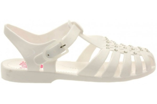 Lelli Kelly lk 9948 White Ice Jelly Sandals