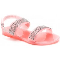 Lelli Kelly lk 9954 Diamante Peach Jelly Sandals