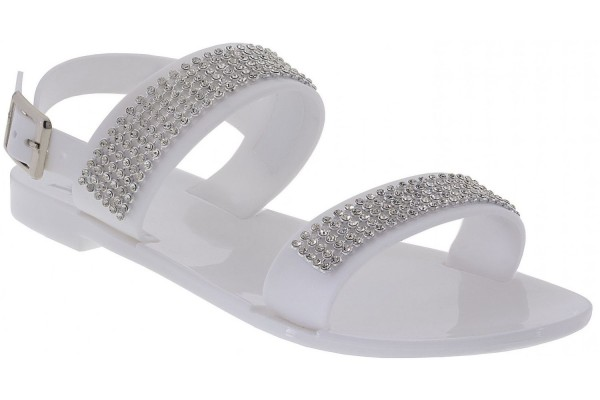 Lelli Kelly lk 9954 White Jelly Sandals