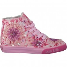 Lelli Kelly lk 4217 Pink Multi Youth Baseball Boots