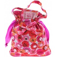 Lelli Kelly LK 9990 White/Pink Fantasia Floral Cotton Bag