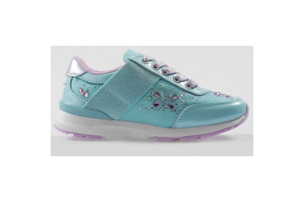 Lelli Kelly LK 6444 California Light Up Trainers Acqua
