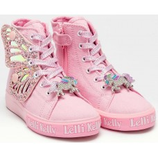 Lelli Kelly LK 1330 Unicorn Wings Rosa Pink Ankle Boot Limited Edition