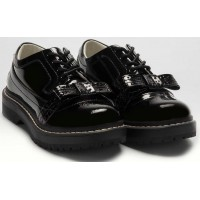 Lelli Kelly LK 8652 Cora Patent Leather Lace Up School Shoes