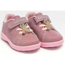 Lelli Kelly LK 4800 Sarah Toddler Baby Trainers Pink Glitter