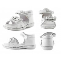 Lelli Kelly LK 4370 White Patent Sandals