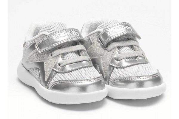 Lelli Kelly LK 1802 Amber Toddler Baby Trainers Silver