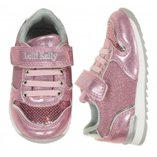 Lelli Kelly LK 1808 Cloe Toddler Baby Trainers Rosa