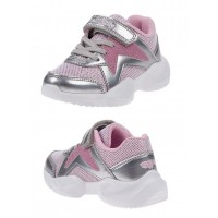 Lelli Kelly LK 1872 Pepper Silver Rosa Trainers